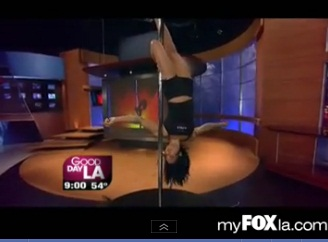 Pole Dance Champ Takes a Fall on GDLA