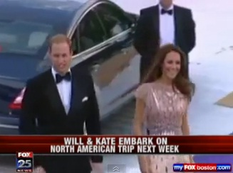 William & Kate head to North America