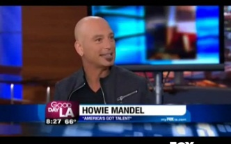 """America's Got Talent"" Judge Howie Mandel on GDLA"