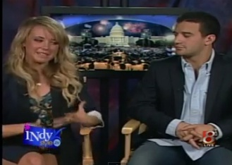 """INSTY-Star Spangled with """"Dancing with the Stars"""" Mark & Chelsea"""