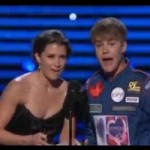 Bieber and Timberlake Are Good Sports at ESPYs