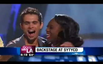 "Four Dancers Sent Home on ""SYTYCD"""