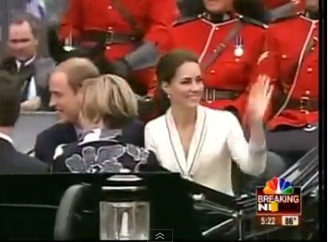 Prince William and wife Kate tour Canada