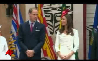 Prince William and Kate Celebrate Canada Day