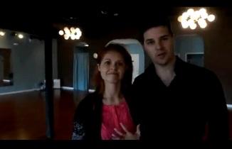 """""""Dancing with the Stars"""" Anna Trebunskaya and Jonathan Roberts"""