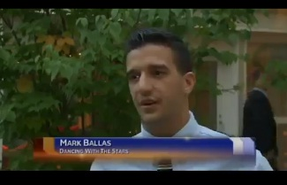 """Dancing with the Stars"" Mark Ballas Attends Fundraising Event in Bazetta"