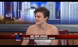 """So You Think You Can Dance"" Winner Melanie Moore"