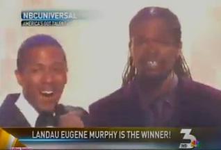 """Landau Eugene Murphy Jr. sings a win on """"America's Got Talent"""""""