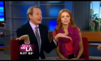 "Carson Kressley and Anna Trebunskaya Talk ""Dancing With The Stars"""