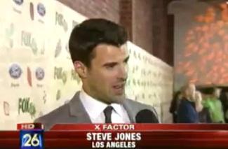 "Host Steve Jones Previews ""The X Factor"""