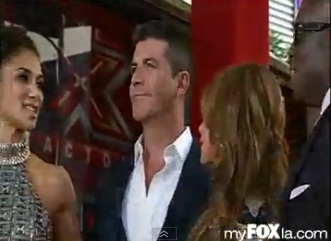 "Simon Cowell Hosts ""X-Factor"" Premiere"
