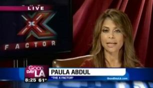 """X Factor"" Judge Paula Abdul on GDLA"