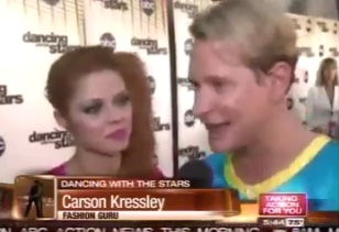 "Kressley could be eliminated on ""Dancing with the Stars"""