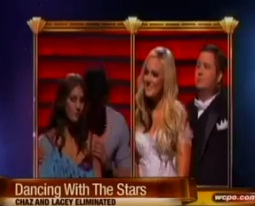 """Dancing with the Stars"" Chaz and Lacey voted off"