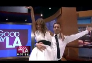 """Dancing With The Stars"" Edyta Performs on GDLA with new show ""Ballroom with a Twist"""