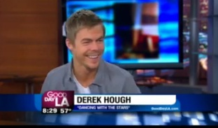 """Dancing With The Stars"" Derek Hough on GDLA"