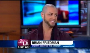 "Choreographer Brian Friedman Talks The ""X Factor"""