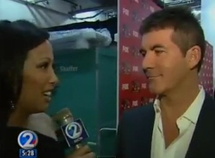 """X Factor"": Olena Interviews Simon Cowell"