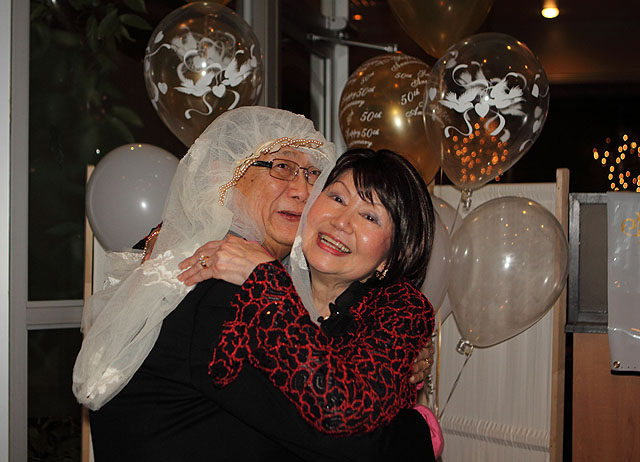 Aaron & Judy's 50th Wedding Anniversary Party at Funky Thai Restaurant – Parts I, II, III & IV