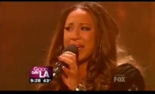 "Melanie Amaro Talks Winning The ""X Factor"""
