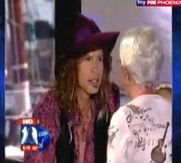"""American Idol"" Judge Steven Tyler Talks to Fox"