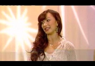 """""""Dancing with the Stars"""" Champ Karina Smirnoff Shows Off Her Moves"""