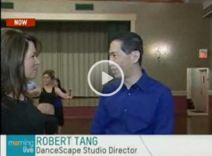 "danceScape on CHCH Television's ""Morning Live!"", with Lesley Stewart"