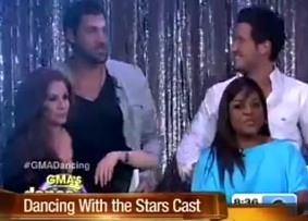 "The new cast of ""Dancing with the Stars"""
