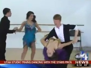 "Utah studio training upcoming ""Dancing with the Stars"" pros"