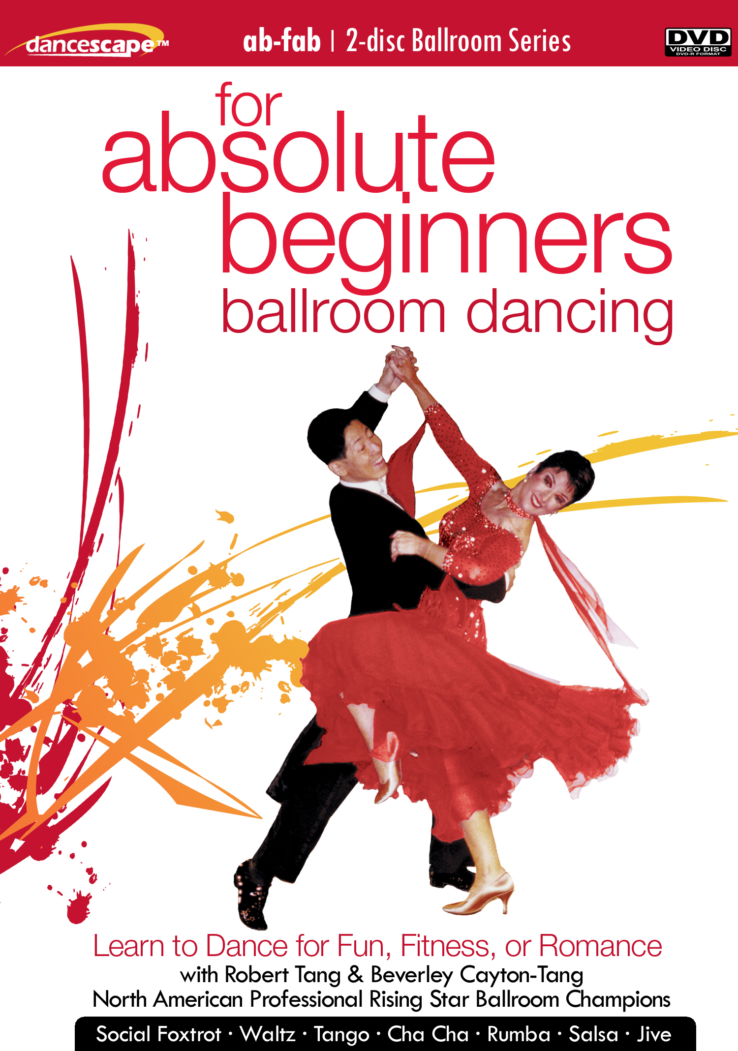 "danceScape Podcast: ""For Absolute Beginners Only Ballroom Dancing"" DVD Release"