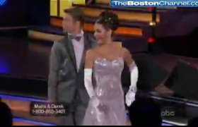 "Menounos Falters, Comes Out OK On ""Dancing with the Stars"""