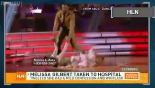 """'Prairie' Star Gets Concussion on """"'Dancing With the Stars"""""""
