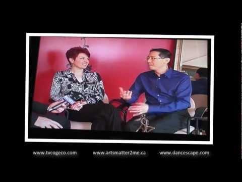 """danceScape on """"Arts Matters"""", TVCogeco Interview"""