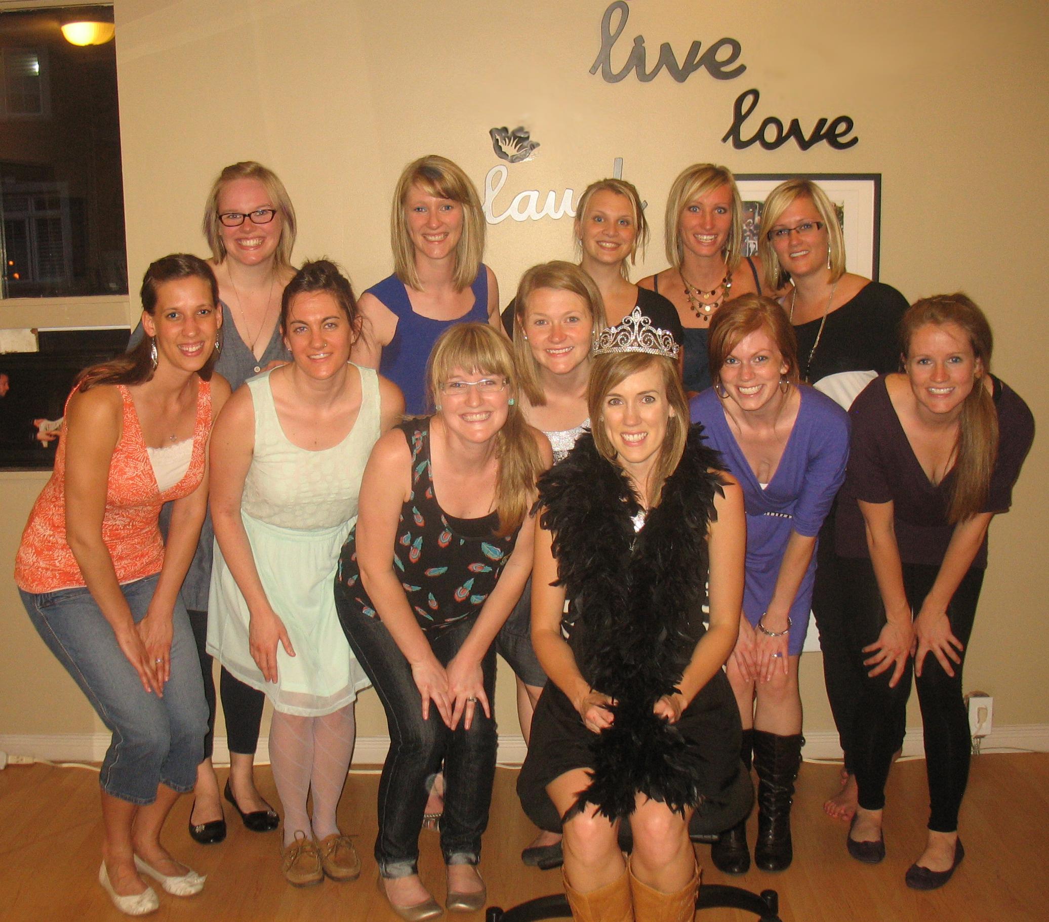 Bachelorette Party for Katelyn at danceScape