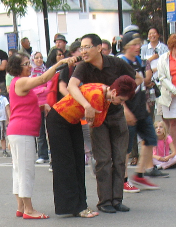 Merengue Latin Dance Lesson with Robert Tang & Beverley Cayton-Tang at Sound of Music Festival