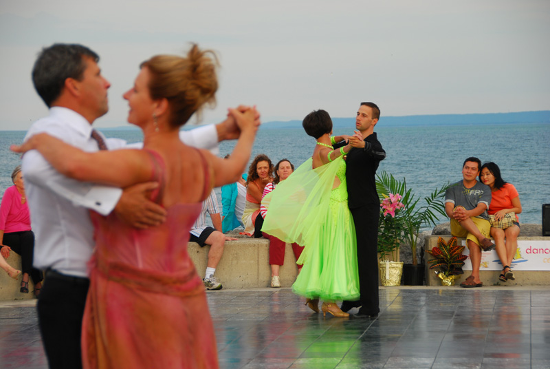 danceScape @the Waterfront: Matt & Carmen, Trevor & Shona Waltz (7:15 p.m.)