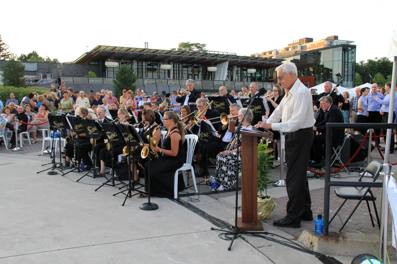 dance @the Waterfront: Milton Concert Band Swing Ensemble