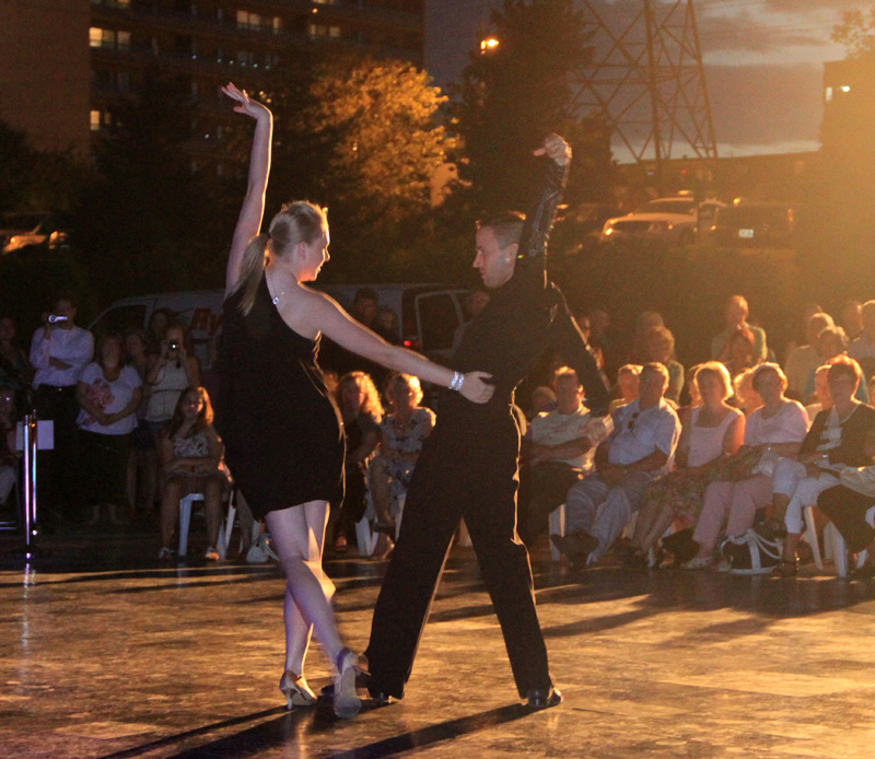 danceScape @the Waterfront: Trevor & Kristen Rumba
