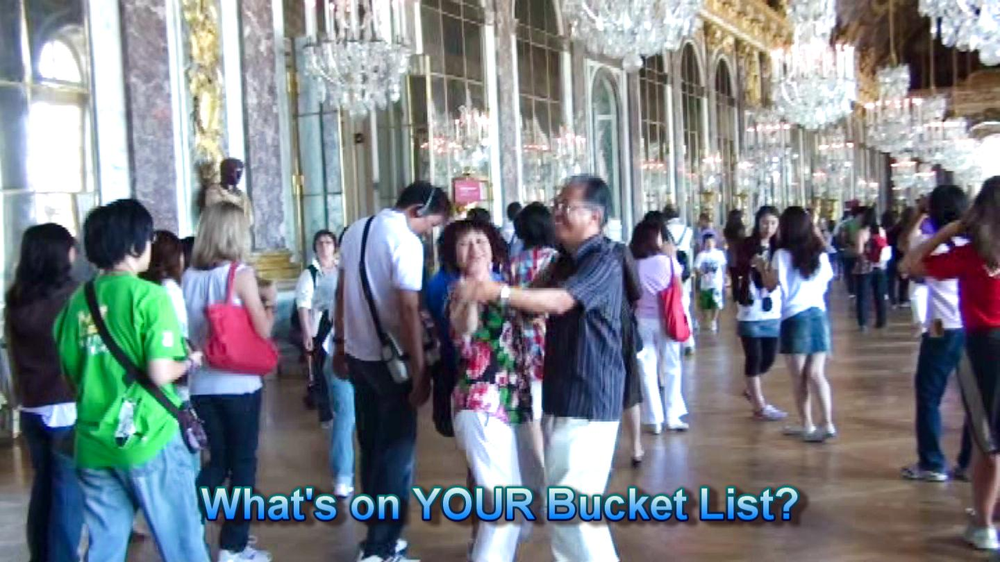 skyhiclub @danceScape – Doris & Alfred Dance at the Palace of Versailles, France!