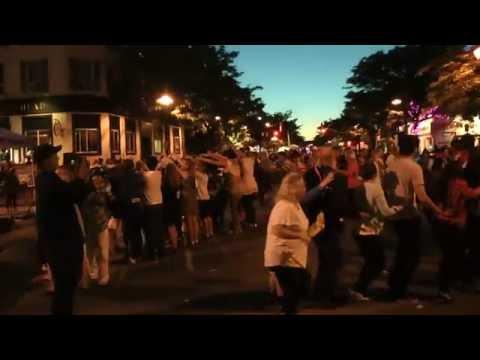 danceScape Leads Streetfest Dance Party @ Burlington Sound of Music 2014