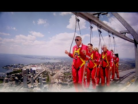 CN Tower Edgewalk – Conga Dancing on the Edge