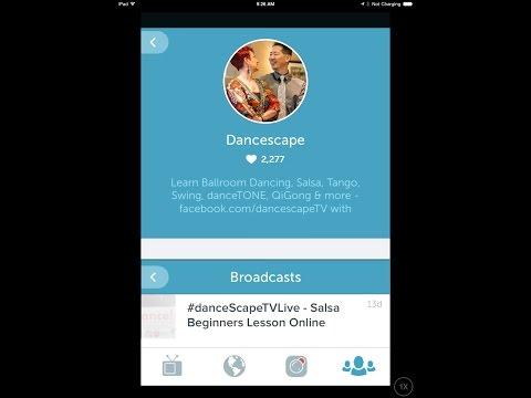 REPLAY: @danceScape TVLive @Periscope – Salsa Beginners Lesson