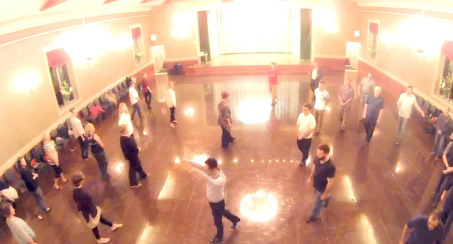 20151001 – Absolute Beginners Ballroom Session 02 (Foxtrot)