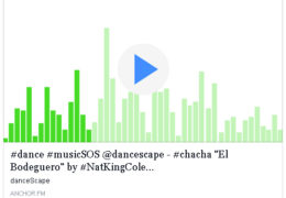 "Podcast – #music #dance style help @dancescape – ""El Bodeguero"" by #NatKingCole… #chacha #fridayfun"