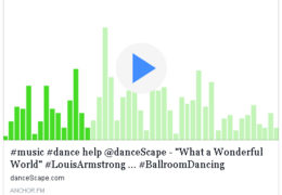 "Podcast – #music #dance help @danceScape – ""What a Wonderful World"" #LouisArmstrong"