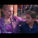 When Lillian (#90years) met Alex (#7years) @danceScape – #shallwedance #lukasgraham?