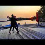 #shallwedance @danceScape? #moonriver #sunset #waltz – #gowiththeflow